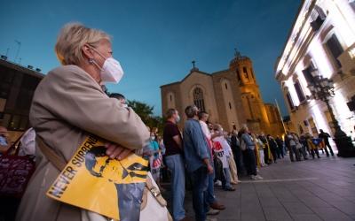 Concentració de suport a Carles Puigdemont | Roger Benet