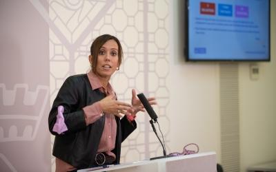 Marta Farrés, desgranant els primers projectes presentats al Ministeri de Transports per optar als Next Generation | Roger Benet