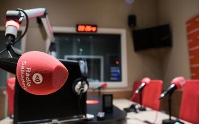 Interior de l'estudi de Ràdio Sabadell | Roger Benet