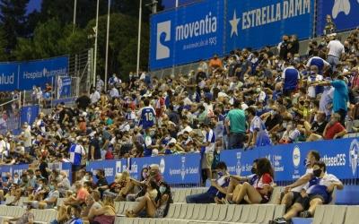 Imatge de l'NCA en l'últim partit de lliga contra la Balona | CES