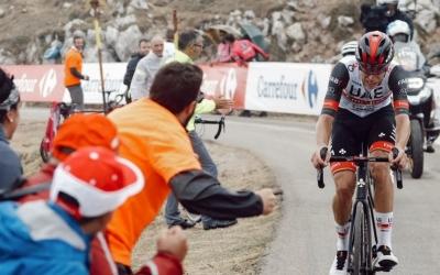 De la Cruz, a l'etapa d'El Gamoniteiru | Team Emirates