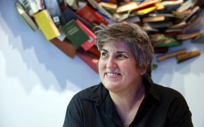 Montse Barderi durant la presentació   ACN