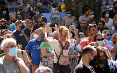 Manifestació contra l'ampliació del Prat | ACN