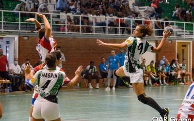Gabi Romero va marcar tres gols en el seu debut en partit oficial amb l'OAR | OAR Gràcia