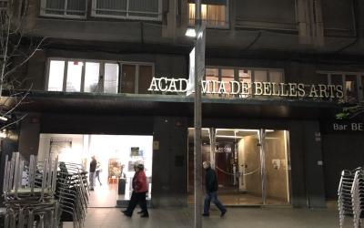 Façana de l'Acadèmia de Belles Arts de Sabadell | Cedida