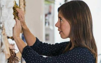L'artista i dissenyadora tèxtil Clara Sullà ha inaugurat el curs 2021-2022 de l'Escola Illa | Cedida