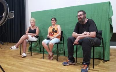 Participants del Sabadell On, en un dels assajos