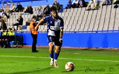 Dani Sánchez acumula quatre titularitats amb el Centre d'Esports, l'última contra el Sanluqueño | Críspulo Díaz