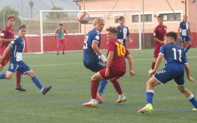 El CES juvenil, disputant el partit contra el San Francisco | Futbolbalear
