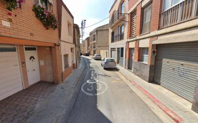 El carrer Major, a la Creu Alta | Google Maps