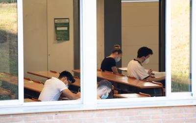 Estudiants fent les proves d'accés a la universitat | Roger Benet