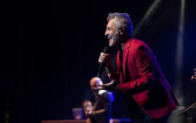 Sergio Dalma ha connectat amb el públic sabadellenc | Roger Benet