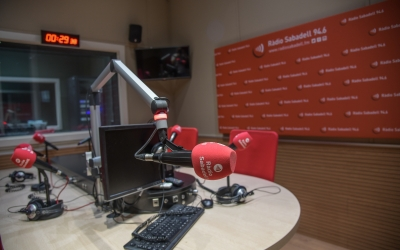 L'Estudi 1 de Ràdio Sabadell | Roger Benet