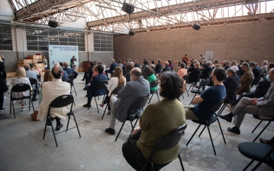 Presentació del projecte, aquest divendres, a l'Artèxtil | Roger Benet