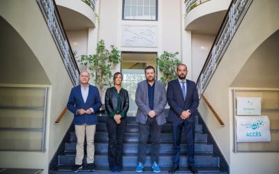 Pla conjunt d'Antoni Poveda, Marta Farrés, Marc Sanglas i Xesco Gomar | Cedida