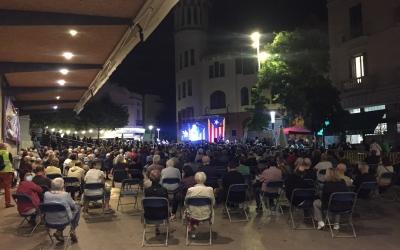Un moment de l'acte aquest vespre | Ràdio Sabadell