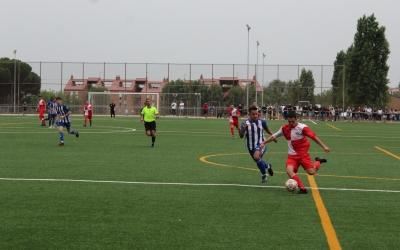 Foto del Can Rull Rómulo Tronchoni al partit per l'ascens a Segona Catalana de la temporada passada | RS