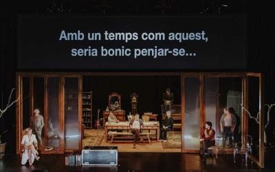 L'Òncle Vània és una producció del Lliure i el Temporada Alta | Sílvia Poch