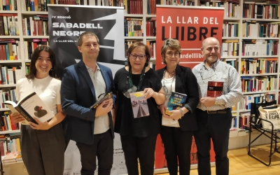 Presentació de la quarta edició del Festival Sabadell Negre | Pau Duran