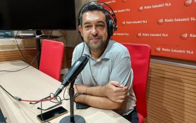 Marc Sabater als estudis del carrer Doctor Puig | Núria García