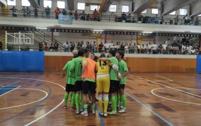 En el partit de la jornada 1 contra l'Ibiza, l'Escola Pia va permetre més aforament | Arxiu
