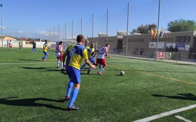 El primer gol del Sant Ildefons va marcar la resta del partit | Sergi Park