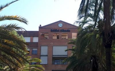 Exterior de l'Albada, on s'ubica la Unitat d'Atenció Pal·liativa/ Taulí