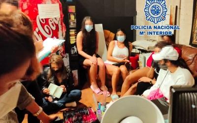 Imatge de les dones alliberades | Policia Nacional