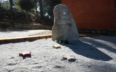 Imatge del memorial dedicat al dol perinatal que s'ha instal·lat al cementiri de Sant Cugat del Vallès | ACN