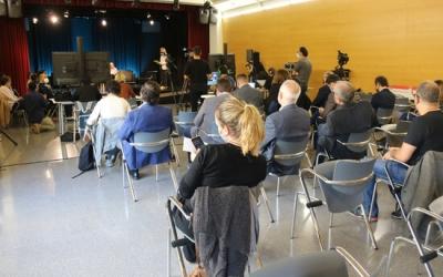 L'auditori de Cal Balsach, durant el Congrés de la Qualitat de l'Aire/ ACN
