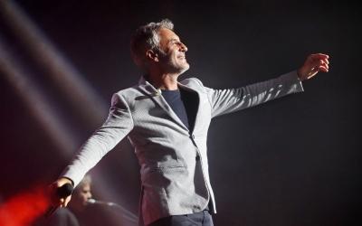 Sergio Dalma durant un concert | www.sergiodalma.es