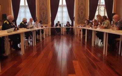 Reunió de la Junta Local de Seguretat al Teatre Principal | Pau Duran