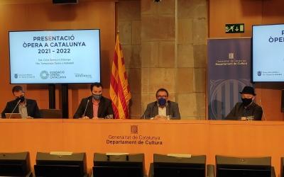 Presentació de l'Òpera Catalunya 2021-22