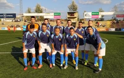 Els jugadors del Sabadell Nord, abans del partit davant del Manlleu | Sabadell Nord