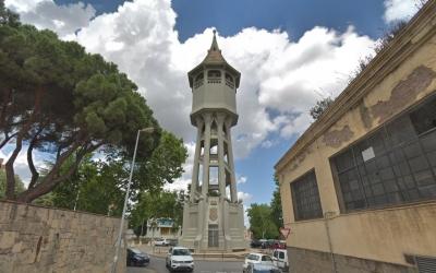 La Torre de l'Aigua serà un dels espais amb guia teatralitzada | Google Maps