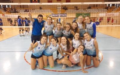 El Natació Sabadell femení celebrant el primer punt de la temporada | Club Natació Sabadell