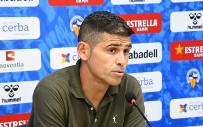 Hidalgo ha tingut una de les rodes de premsa més complicades des que dirigeix el Sabadell | CES